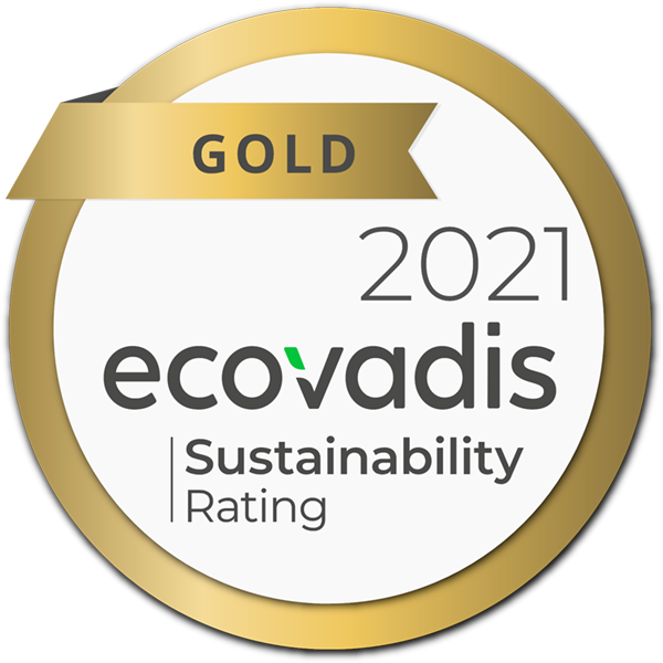 EcoVadis Gold Medal